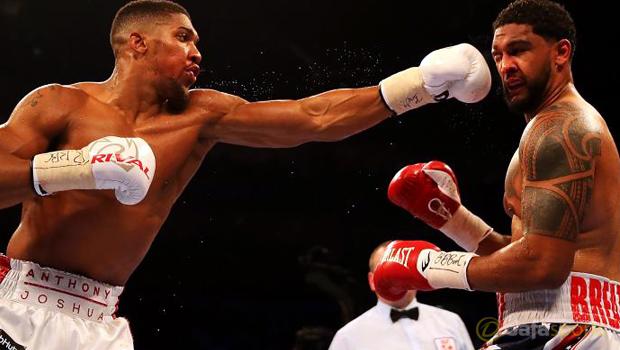Anthony Joshua beats Dominic  Breazeale