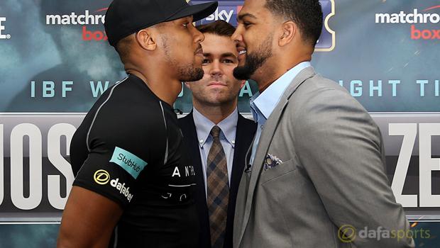 Anthony Joshua vs Dominic Breazeale Boxing