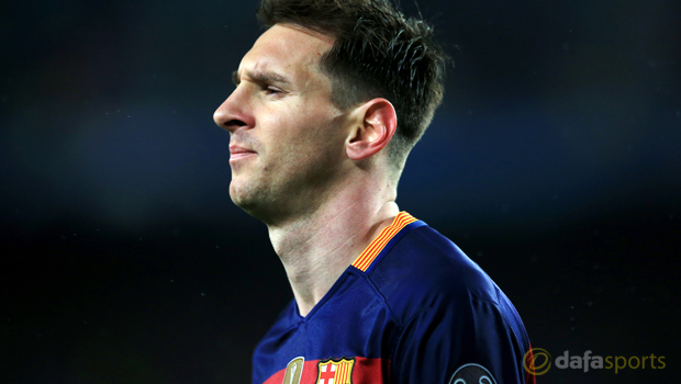 Barcelona and argentina star Lionel Messi