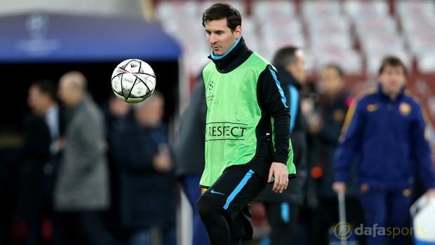 Barcelonas Lionel Messi