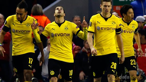 Borussia Dortmund star Henrikh Mkhitaryan