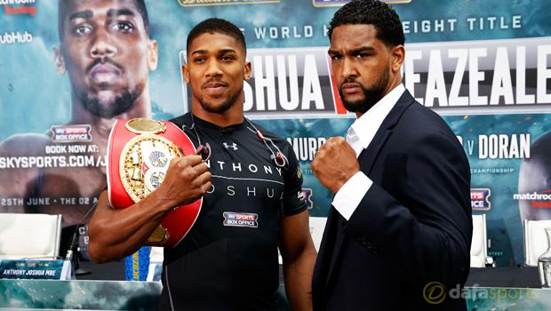 Boxing Anthony Joshua vs Dominic Breazeale