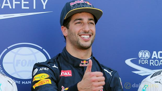 F1 Red Bulls Daniel Ricciardo Austrian Grand Prix