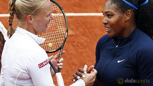 French Open Final 2016 Serena Williams v Garbine Muguruza