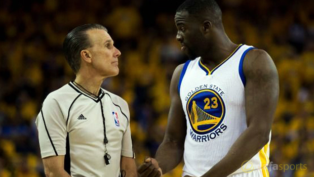 Golden State Warriors Draymond Green suspension Game 5 NBA