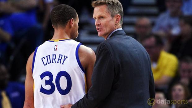 Golden State Warriors coach Steve Kerr NBA Finals