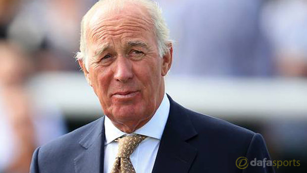 Horse Racing Trainer Marty Chelsea Lad