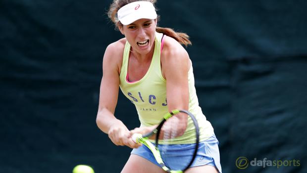Johanna Konta ahead of Wimbledon Championships Tennis