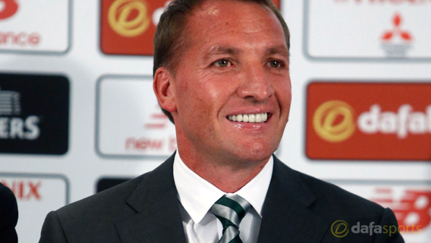 New Celtic manager Brendan Rodgers
