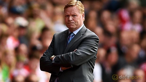 New Everton boss Ronald Koeman