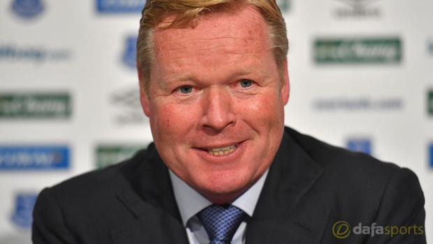 New Everton manager Ronald Koeman