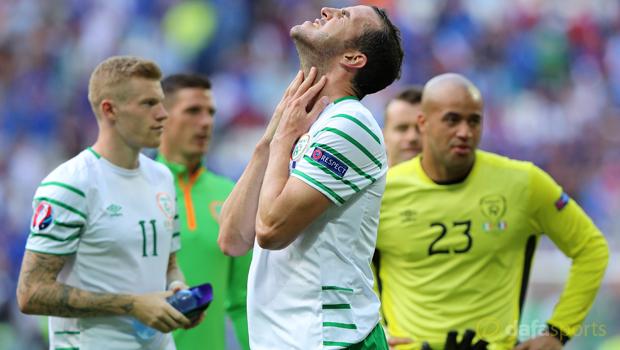 Republic of Ireland John OShea Euro 2016