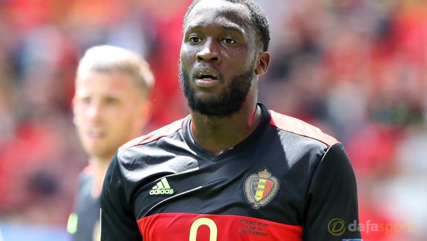Romelu Lukaku Belgium Euro 2016