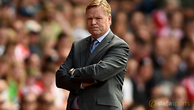 Southampton boss Ronald Koeman to Everton