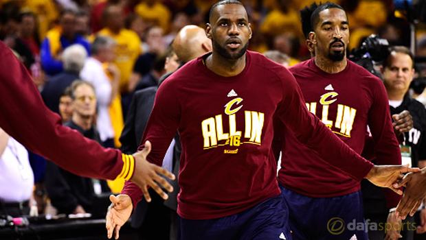 Tyronn Lue Cleveland  Cavaliers Lebron James NBA Finals