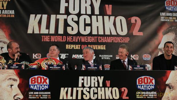 Wladimir Klitschko vs Tyson Fury Boxing