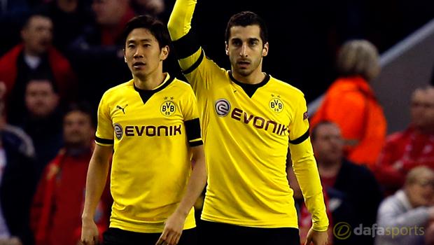 Borussia Dortmund Henrikh Mkhitaryan