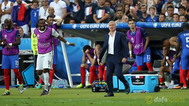 Didier Deschamps Euro 2016 France