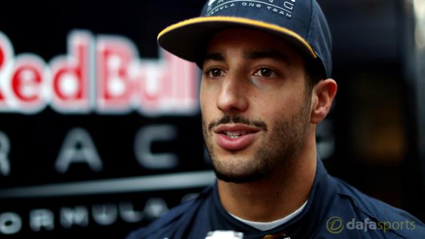 Red Bull Daniel Ricciardo British Grand Prix