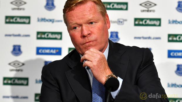 Ronald Koeman New Everton manager