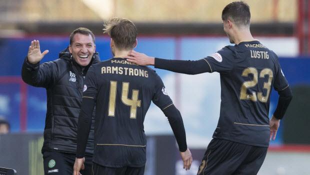 Armstrong thankful for faith Celtic