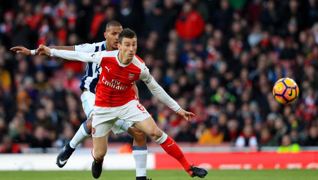 Arsenal Koscielny retains title belief