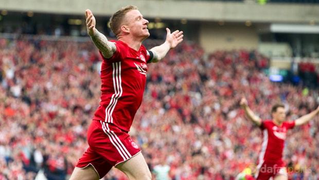 Aberdeen-winger-Jonny-Hayes-Football