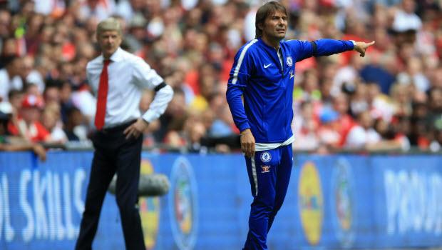 Antonio Conte Arsenal v Chelsea - Community Shield - Wembley
