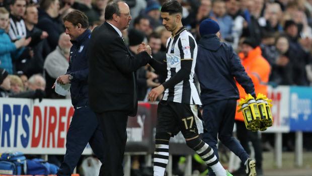 Newcastle United's Ayoze Perez - Newcastle United v Preston North End