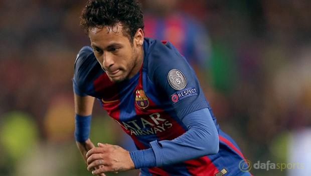 Neymar-Barcelonan