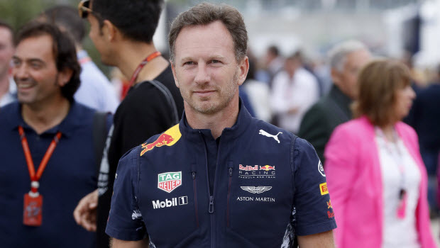 Red Bull chief Christian Horner