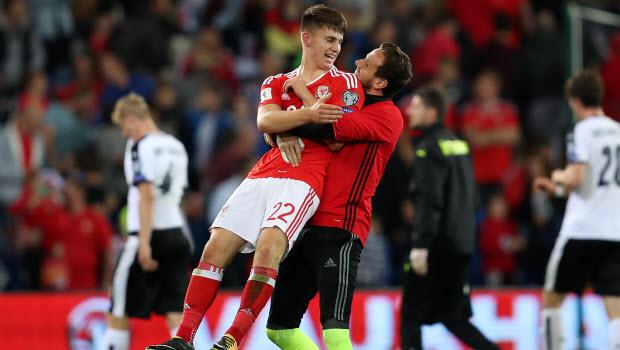 Ben Woodburn - Wales v Austria - 2018 FIFA World Cup Qualifying