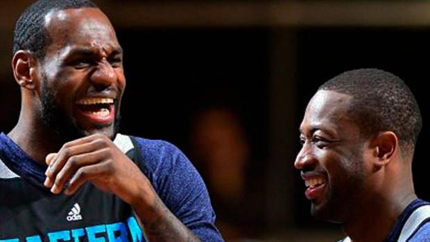 LeBron-James-and-Dwyane-Wade-Cleveland-Cavaliers-NBA