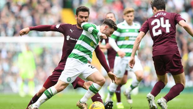 Patrick Roberts - Celtic v Heart of Midlothian - Ladbrokes Scottish Premiership